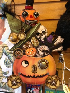 Cute and Scarey Halloween Decore has token over the store!
